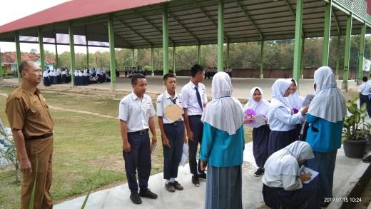 MPLS di SMAN 1 Rumbia, Hadirkan Narasumber dari TNI-Polri