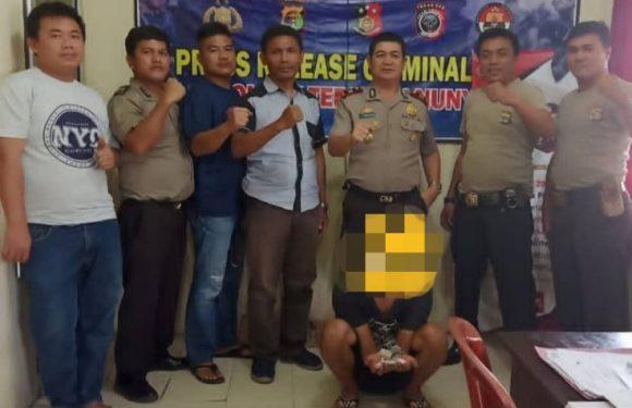 Pakai Narkotika Golongan 1 Warga Tanjung Anom Diciduk Polisi