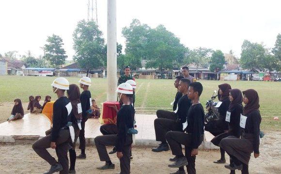 Calon Paskibra Kecamatan Bangunrejo Intensifkan Latihan