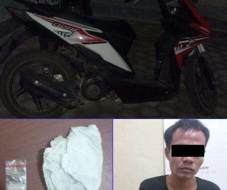 Berupaya Kelabui Polisi, Yulianto Simpan Sabu di Plat Kendaraan