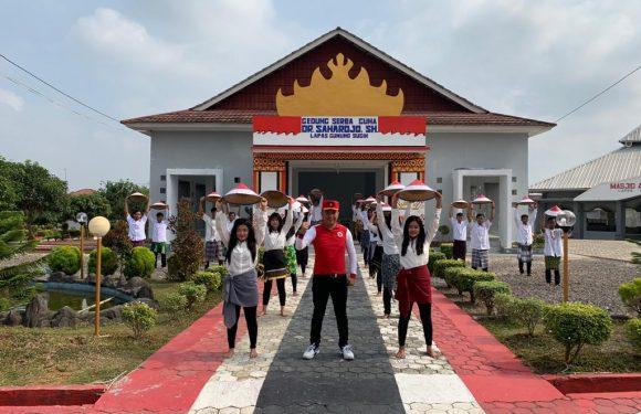 Sukseskan Rekor MURI, Napi Lapas Gunung Sugih ikuti tari kolosal Indonesia Bekerja