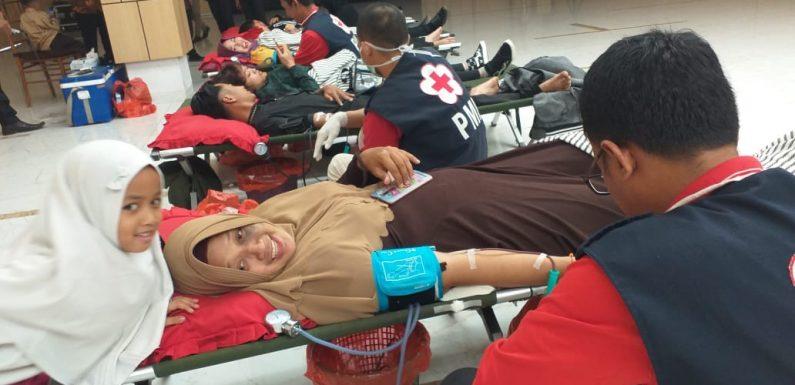 Baksos Donor Darah BBC Hotel, Sumbangkan 72 Kantong