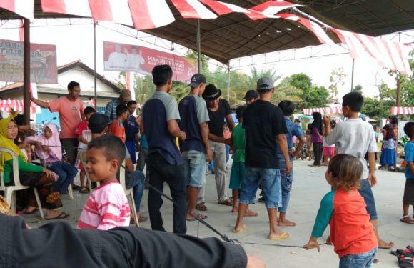 Peringati HUT RI ke-74 Pemuda Kampung Adijaya Gelar Berbagai Perlombaan