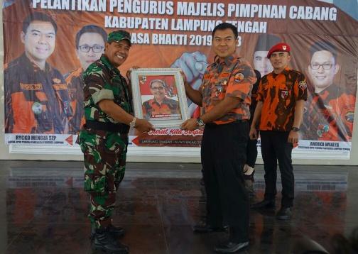 Habibi Nahkodai MPC Pemuda Pancasila Lampung Tengah