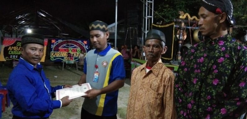 Bersih Dusun, Kampung Srikaton Gelar Wayang Kulit