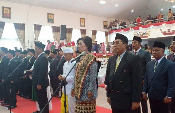 Hari ini, Anggota DPRD Lampung Tengah di Lantik