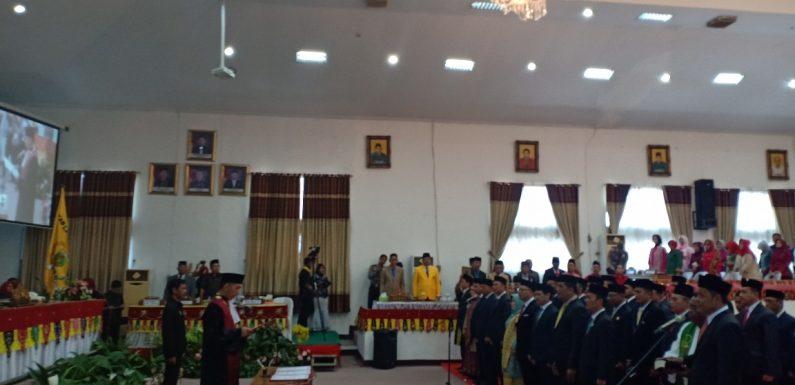 Anggota DPRD Lampung Tengah Dilantik, Masyarakat Ingatkan Untuk Selalu Amanah
