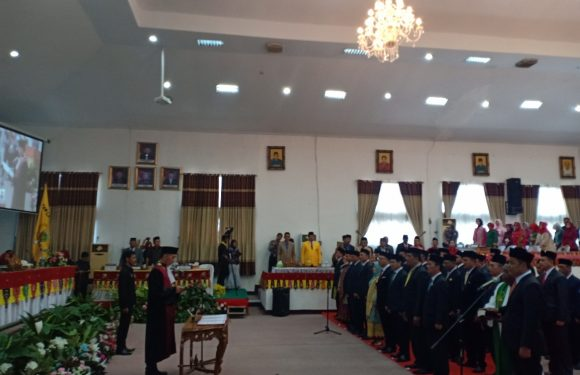 Pelantikan DPRD Lamteng, Bupati : Jadikan DPRD Sebagai Ladang Pengabdian Kepada Masyarakat