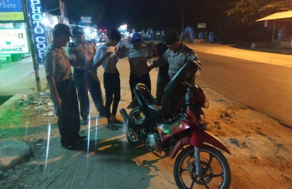 Polsek Seputihsurabaya Razia di Titik Rawan, Tekan Kejahatan 3C