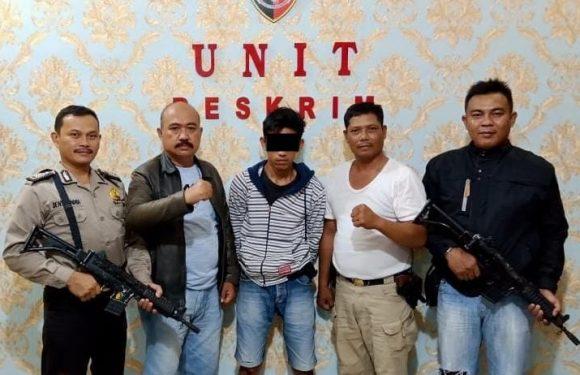 DPO Penganiyaan Dibekuk Polsek Seputih Mataram