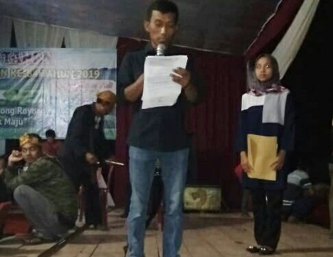 Pembukaan HUT ke-84 Kelurahan Simbarwaringin Meriah