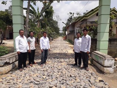Kampung Uman Agung Percepat Pembangunan