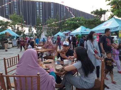 Aneka Makanan Murah Ada di Bazaar Food Festival BBC Hotel