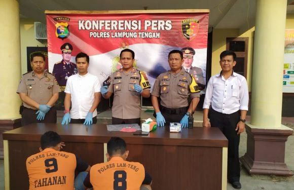 Delapan Tahun Buron, Pembunuh Polisi di Tangkap Satreskrim Polres Lampung Tengah
