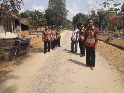 Melalui Dana Desa Trimulyo Mataram Benahi Infrastruktur