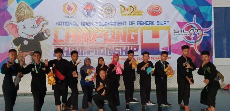 Tampil di Indonesian Championship 4, TTKKDH Lamteng Raih 12 Medali
