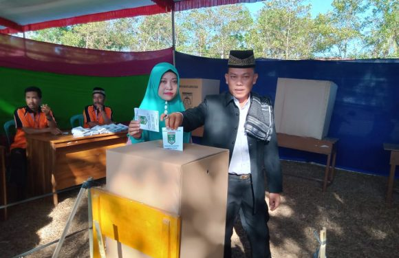 Pilkakam Serentak, Nyono Rahadi Kembali Pimpin Kampung Liman Benawi