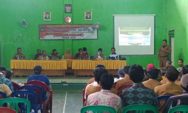 Musrenbang Kampung Sukanegara Banyak Usulan Pembangunan