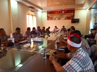 Rakor Ops Lilin 2019, Polres Lampung Tengah Utamakan Pengamanan Rest Area