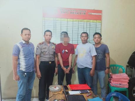 Hendak Kabur ke Medan, DPO Curat Dibekuk di Depan Mapolsek