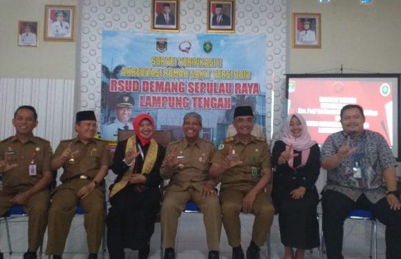RSUD DSR Lampung Tengah Terima Penilaian Akreditasi KARS
