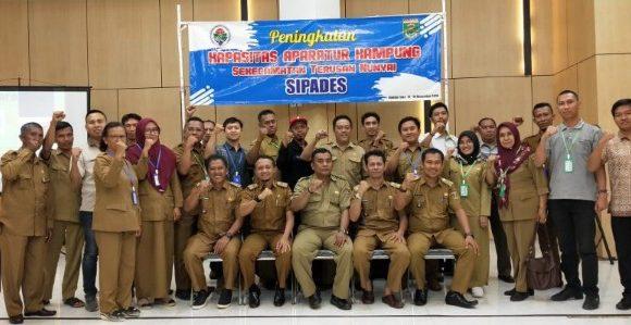 Tujuh Kampung Kecamatan Terusannunyai, Ikuti Pelatihan Peningkatan Kapasitas Aparatur Kampung