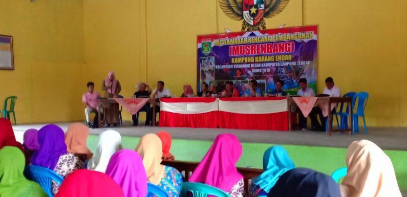 DPRD Lamteng dari Dapil V Lakukan Reses Berkelompok di Karangendah