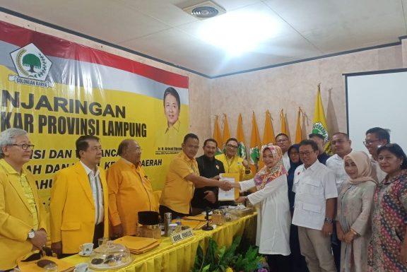 Ini Visi-Misi Nessy Mustafa yang Dipaparkan di DPD Golkar Lampung