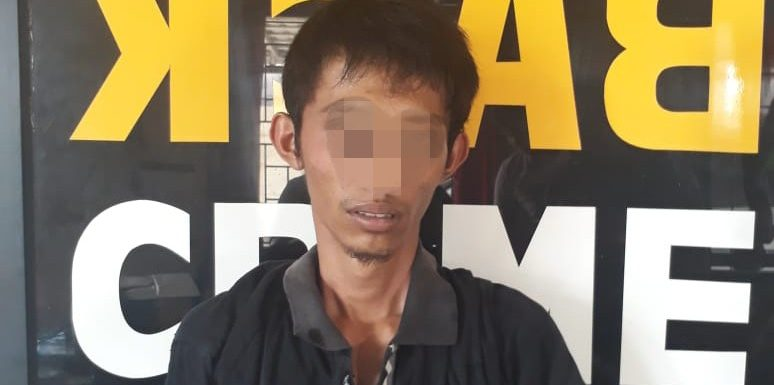 Bawa 15 Paket Kecil Sabu, Warga Gunungbatin Udik Ditangkap Polisi