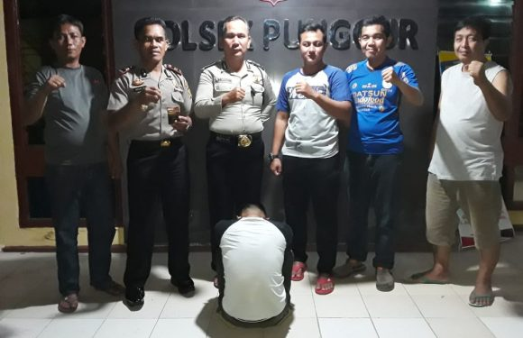 Kedapatan Bawa Sabu, Warga Bangunrejo Ditangkap Polsek Punggur