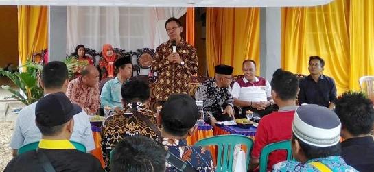 Cegah Konflik, Mingrum Gumay Sosialisasikan Perda Rembug Desa