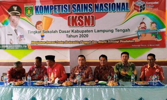 KSN Tingkat SD, Enam Siswa Berprestasi akan Wakili Lamteng