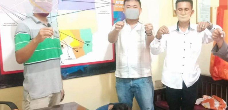 Asyik Nyabu, Warga Tuba Barat Ditangkap Anggota Polsek Tenun