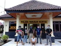 Dua Pelaku Curas dan Bandar Sabu Ditangkap Polsek Terusannunyai