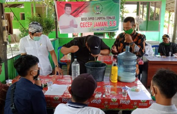 Selain Reses, Cecep Jamani Beri Edukasi Masyarakat Dapil I