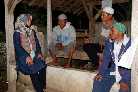 Nessy Mustafa Hidupkan Semangat Ronda di Lampung Tengah