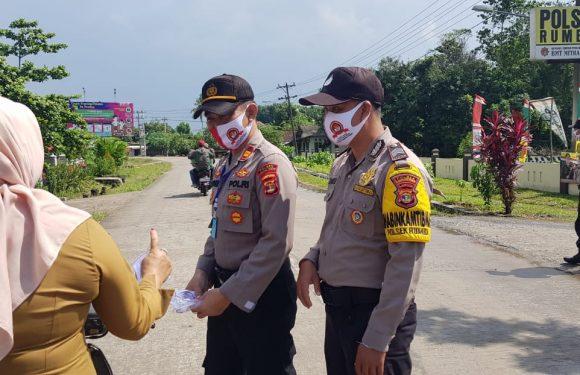 Polsek Rumbia Sambut HUT Bhayangkara ke-74, Begini Rangkaiannya