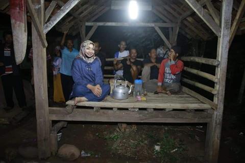 Nessy Janjikan Kampung Sayur Rambah Bisnis Modern