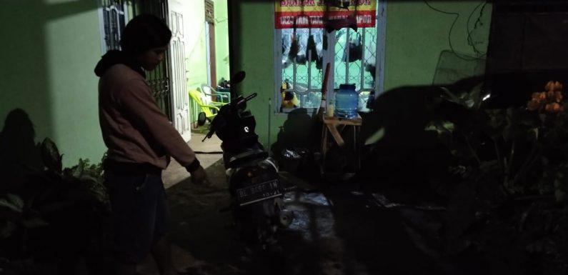Ditinggal 15 Menit, Motor Warga Bandarjaya Timur Raib