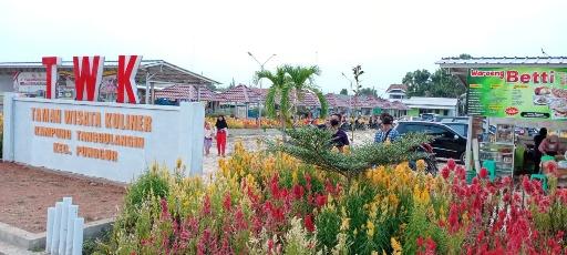 TWK Kampung Tanggul Angin Mulai Ramai Pengunjung