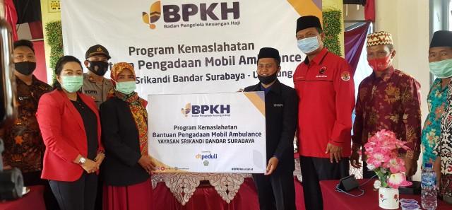 Yayasan Srikandi Bandarsurabaya Terima Bantuan Ambulance dari BPKH dan DT Peduli