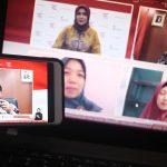 Dr. Abdul Kahar, M.Pd (Kepala Pusat Layanan Pembiayaan Pendidikan (Puslapdik) Kemendikbud) dalam dialog produktif bertema subsidi upah mendukung pendidik dan tenaga kependidikan non-PNS bersama Perwakilan Dosen dan Guru Honorer penerima Subsidi di Jakarta, Kamis, 19 November 2020