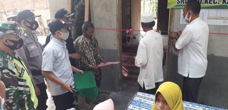 Camat Kalirejo  Resmikan Penggunaan Bangunan Bedah Rumah Warga Kampung Sridadi