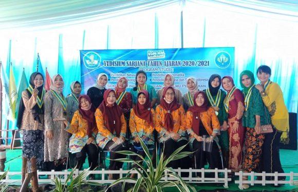 STKIP Tunas Palapa Lampung Tengah Gelar Yudisium 2020/2021