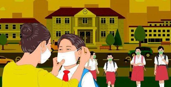 KBM Tatap Muka Tidak Wajib, Tiga Kecamatan Jadi Perhatian Khusus Disdikbud Lamteng