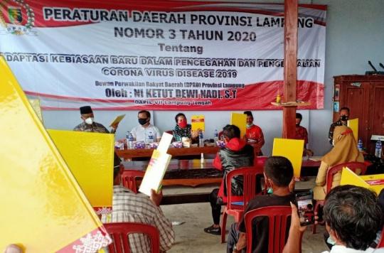 Ni Ketut Dewi Nadi Laksanakan Sosper Nomor 3 Tahun 2020 di Seputihjaya