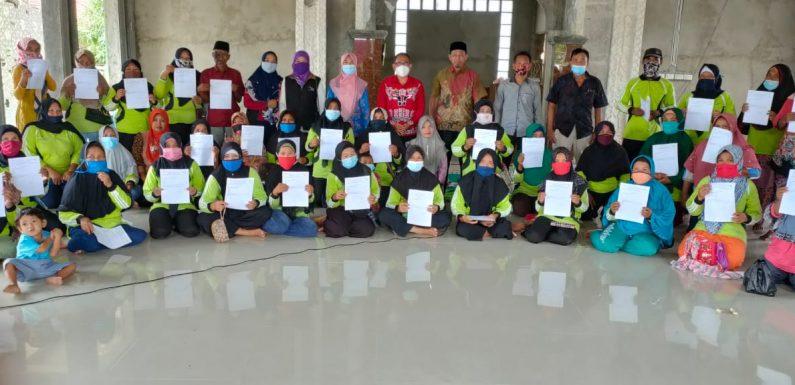 Tak Lagi Bergantung Pada Bantuan, 79 KPM PKH Terbanggibesar Graduasi Massal