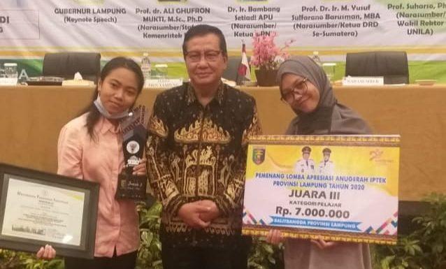 KIR SMAN 1 Seputihraman Raih Juara III Tingkat Provinsi Lampung