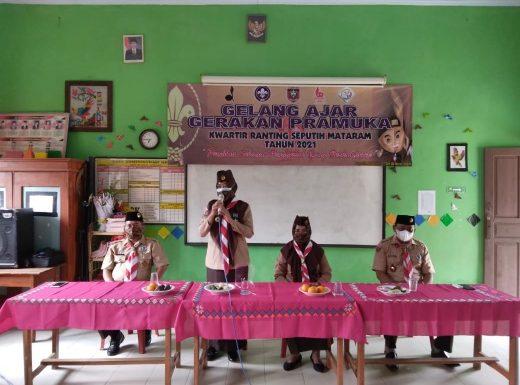 Kwartir Ranting Seputih Mataram Adakan Kegiatan Gelang Ajar