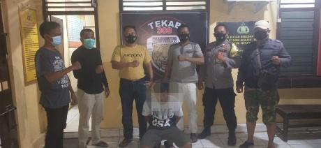 Simpan Sabu Dalam Bungkus Rokok, Pemuda Asal Metro Dibekuk Tekab 308 Polsek Trimurjo